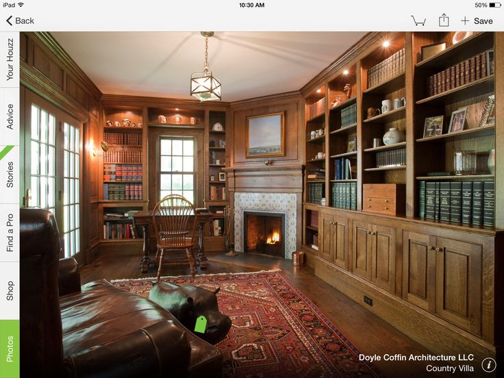 89 best Home Library images on Pinterest