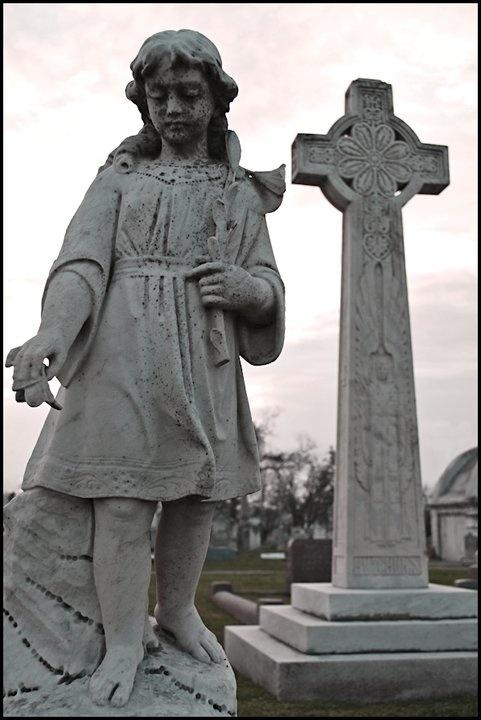 Cemetery Statues - 5 by kristyevans.deviantart.com