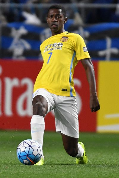 Ramires Santos  of Jiangsu FC in action during the AFC Champions League Group H match between Gamba Osaka and Jiangsu FC at Suita City Football Stadium on March 15, 2017 in Suita, Japan.