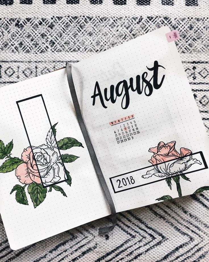 Bullet Journal Inspiration für 2019: 19 Beste Acc…