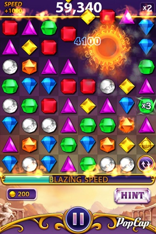 Bejeweled Blitz for iPhone. Free.