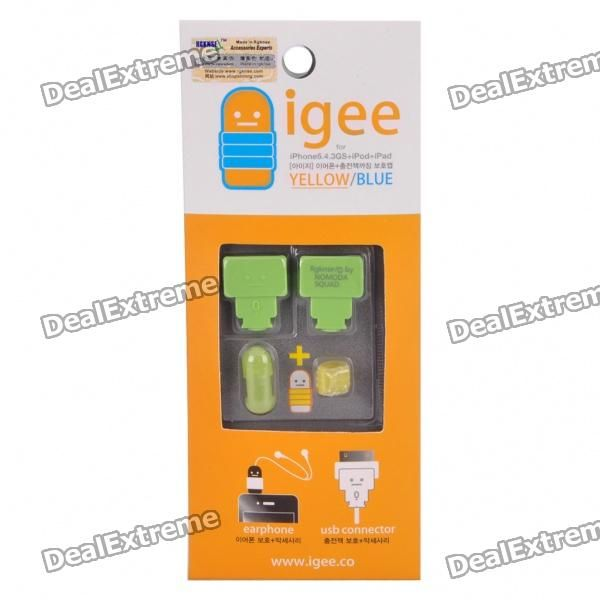 Cable and Cord Protector for Iphone 4/4S Ipad Ipod - Green