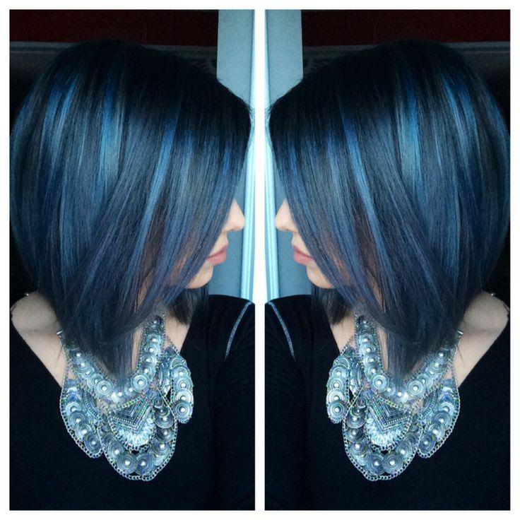 Pravana blue * pravana silver * blue hair * pravana vivids