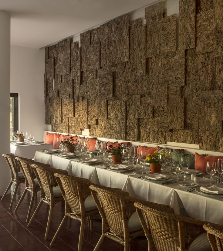 jose carlos cruz arquitecto ecork hotel evora portugal designboom amazing display of a rugged cork - Cork Restaurant 2015