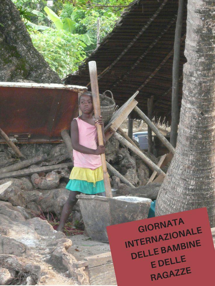 Ogni ragazza ha il diritto all'istruzione:  qualunque cosa i ragazzi possono fare, le ragazze possono fare