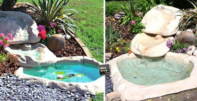 Crearsi una piccola oasi in giardino! 20 idee stupende + Tutorial…