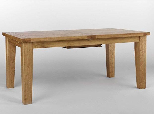 Windsor Grand Oak Extending Dining Table 180 230 Cm