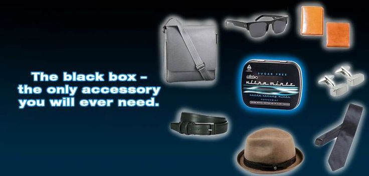 The Black Box - the only accessory you will ever need.