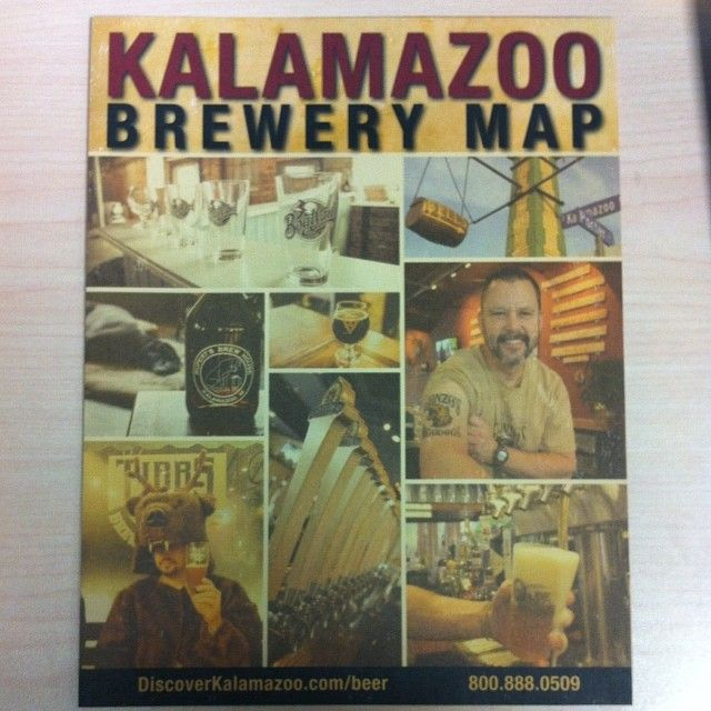 Check out #Kalamazoo's very own Brewery Map! #drinklocal #craftbeer #beercity #Kzoo #PureMichigan #PureMI Click this link to download the Map! http://www.discoverkalamazoo.com/kalamazoo-brewery-map-177/