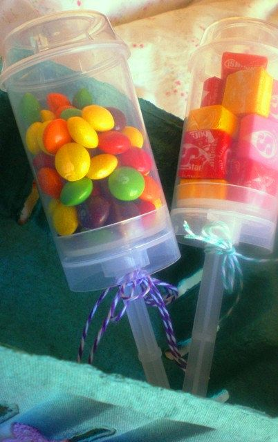 Push Pop Containers For Dessert, Candy, Favors