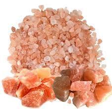 La maravillosa sal del Himalaya Sal rosada del Himalaya - Un regalo de la naturaleza. Los cristales de la sal natural del Himalaya son mucho más que cloruro de sodio. Está compuesta  exactamente por los mismos 84 elementos de los que se compone el cuerpo humano