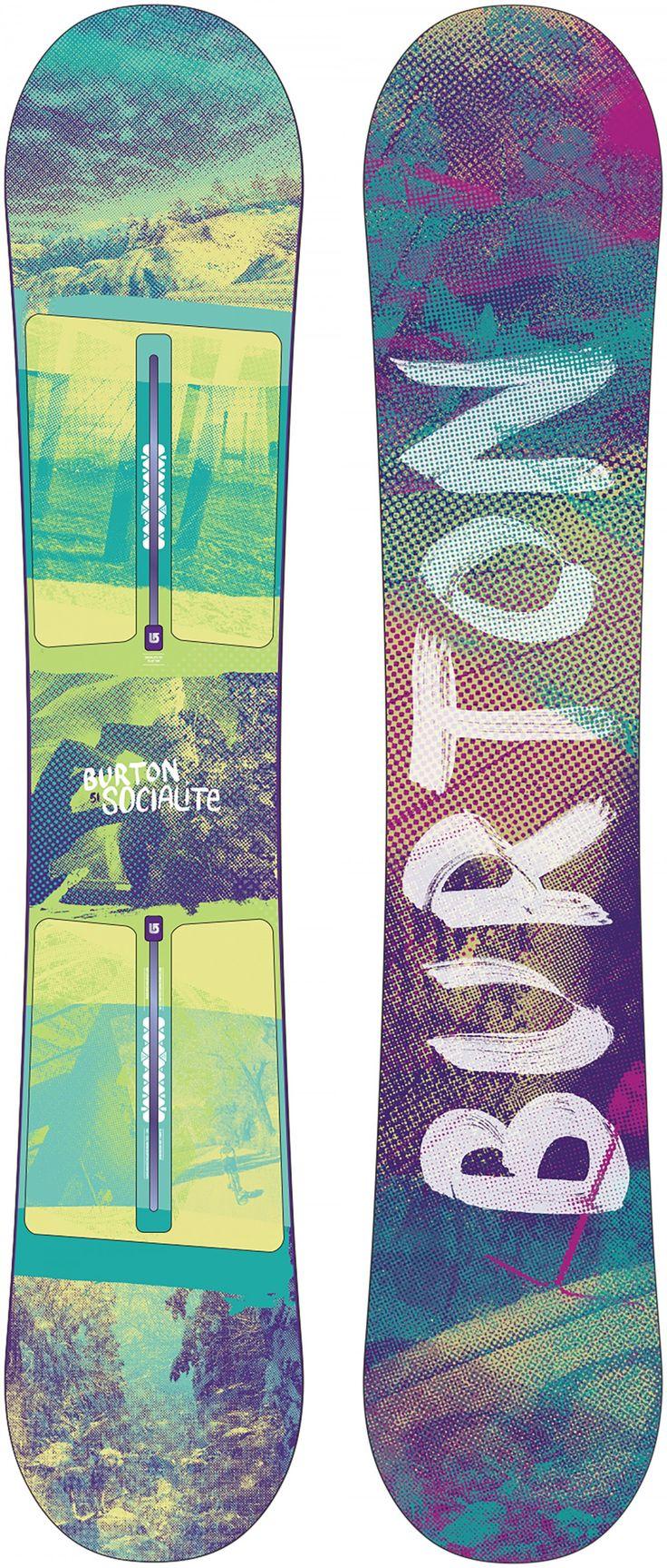Burton Socialite Womens Snowboard '14/15 from @golfskipin