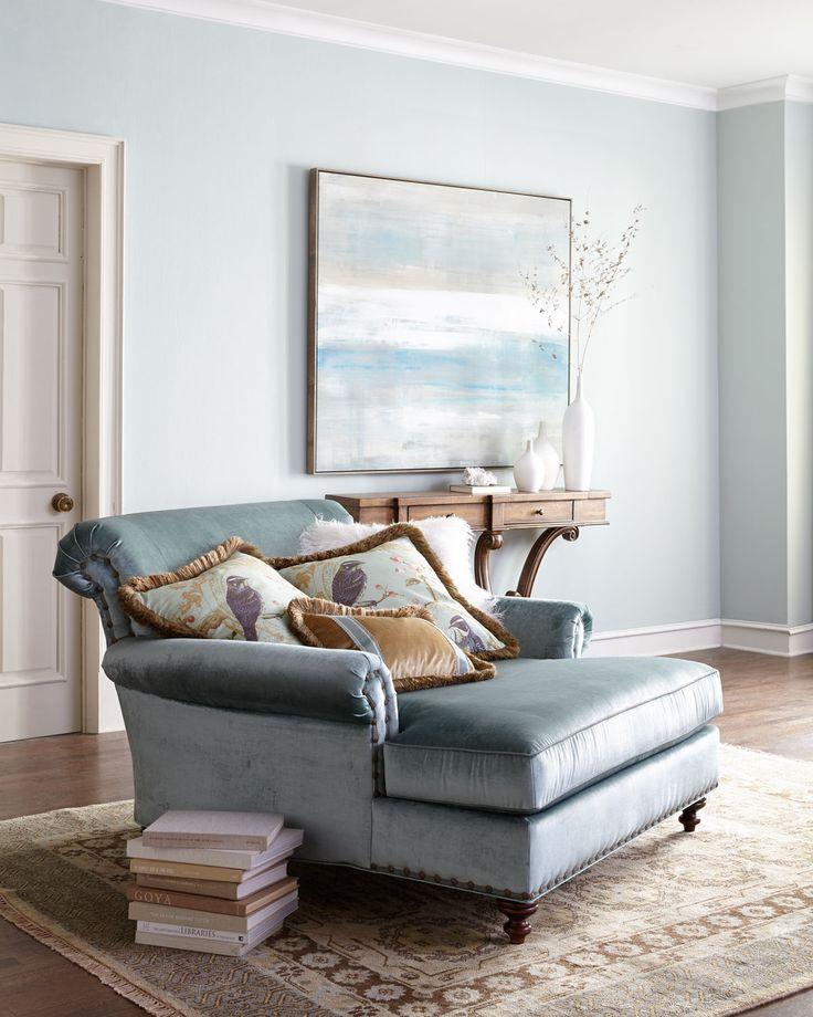 "Massoud Furniture | Stella Oversized Chair | rayon velvet upholstery | 60""w x 61""d x 38""h x 19""seat ht x 26""arm ht | 3,699.00"