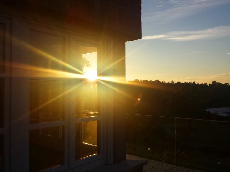 October 2015 - A great sunset from Villaverde Bar&Restaurant - Club House Golf Club Udine - Fagagna, Udine - Italy