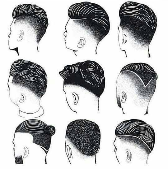 Haircuts and styles