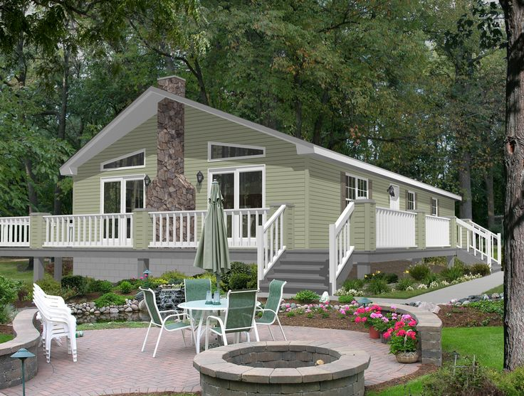 21 best images about exterior of modular homes on for Modular lake homes