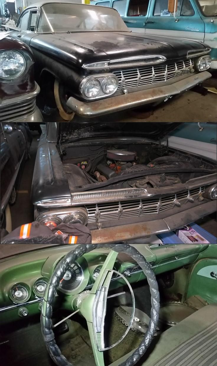 solid 1959 Chevrolet Biscayne Project | Project cars for