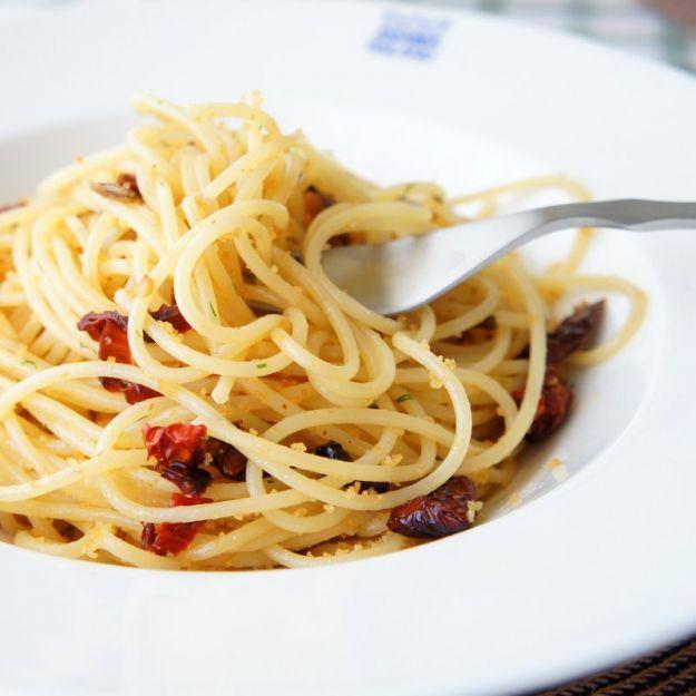 spaghetti pomodori secchi