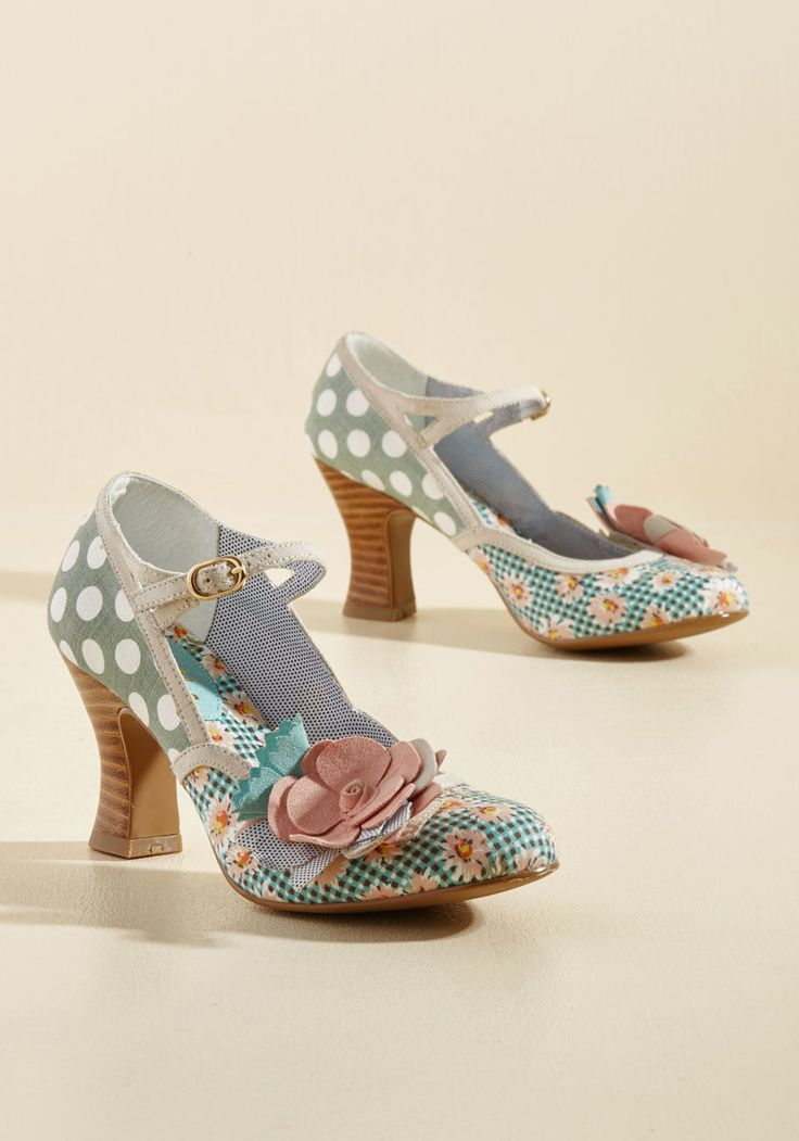 Mix and Marvel Mary Jane Heel in 41, #ModCloth