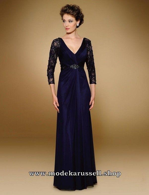 Abendkleid Sylvana in Blau