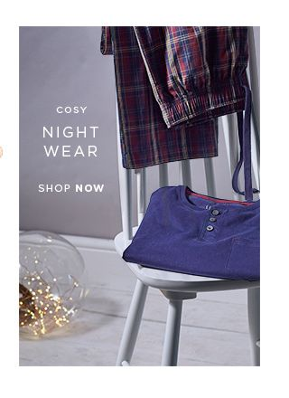 Christmas 2015 - Night Wear From Next - The Perfect Gifts For Him