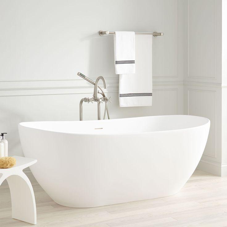 """71"""" Hazel Acrylic Freestanding Tub"""