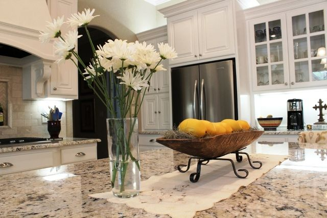 A Bright And White Texas Kitchen Designed And Built By Trent Williams Construction Tyler