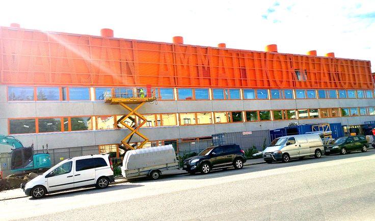 VAMK Palosaari Campus under renovation.