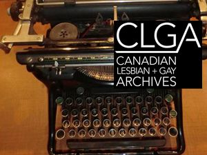 The CLGA is the largest independent LGBTQ archives in the world; the CLGA has been keeping our stories alive since 1973. More than a library, more than stacks of vertical files, the CLGA is the repository of all things Queer – tiaras, t-shirts, buttons, posters, matchbook covers, personal notes on the back of napkins and typewritten drafts complete with marginalia. This place is a treasure trove that maintains and breathes memory back into the community