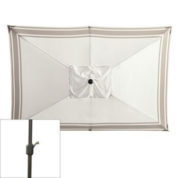 SONOMA outdoors™ Crank & Tilt Rectangular Patio Umbrella