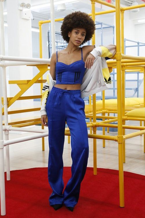 3332b36e0c Danielle Cathari x adidas Originals Drop 2 second collection where to buy  tracksuit jacket track pants dress shorts women s sportswear
