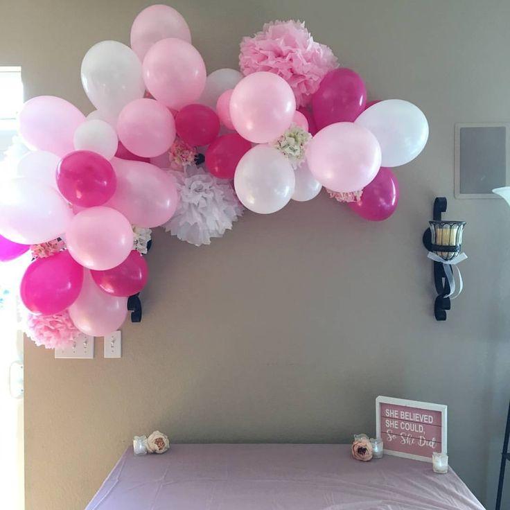 Small ballon arch! So cute