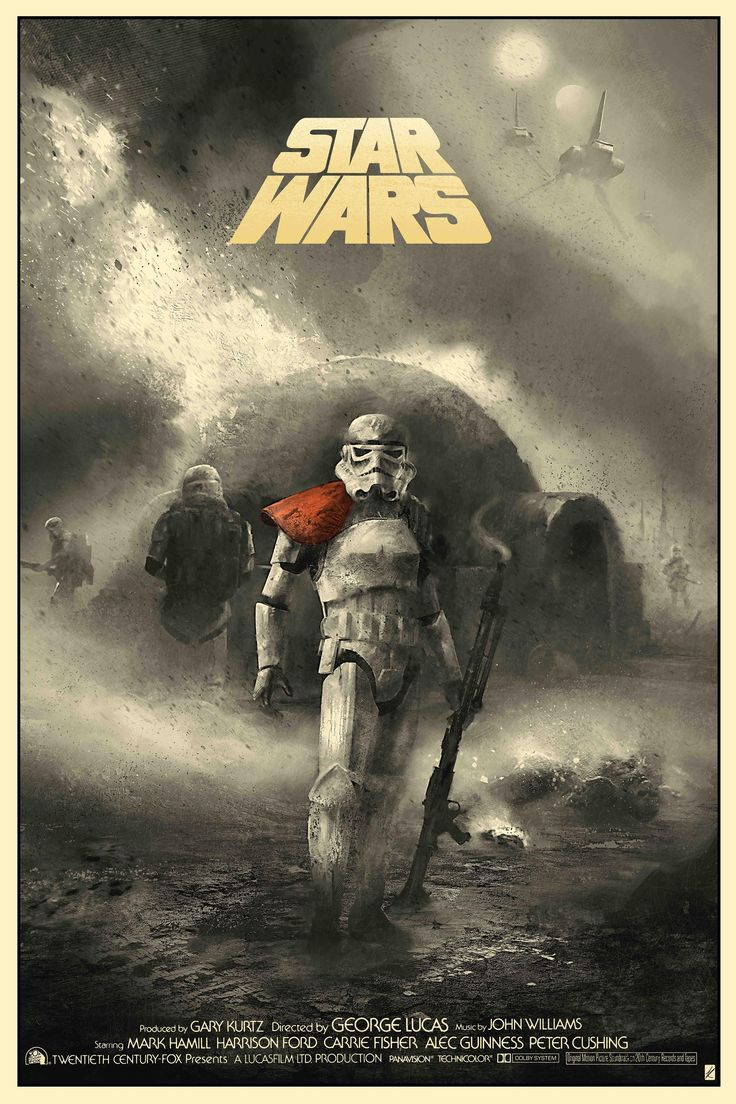 Star Wars - #04 - ANH - Karl Fitzgerald ----