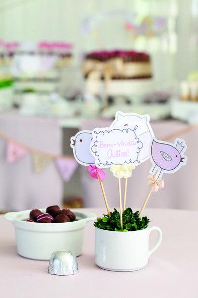 5 ideias para decorar o chá de bebê de menina - Crescer | Chá de bebê