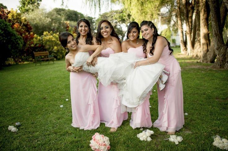 5 funciones de las damas de honor