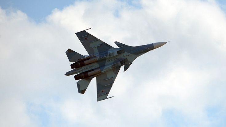 La Russie a dépêché un avion de chasse pour intercepter un avion américain près de sa frontière ENCORE DES NEOCONS DES USA EN TRAIN DE FOUTRE LE CHAOS DANS LE MONDE