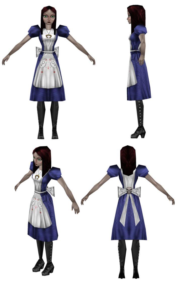 Alice Blue Minecraft Skin