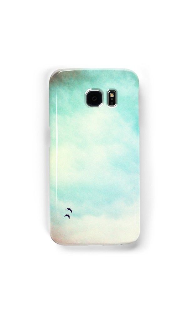High in the sky by Silvia Ganora - #phonecases #iphonecase #galaxycase #birds #freedom #sky #redbubble