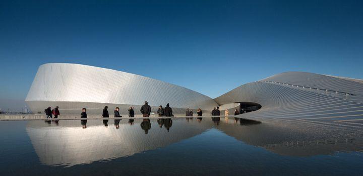 Aquário The Blue Planet - 3XN   http://www.bimbon.com.br/projeto/aquario_the_blue_planet