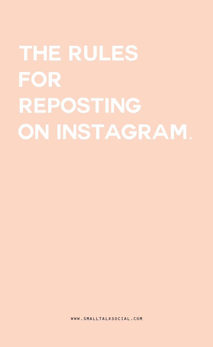 Instagram etiquette: How to properly re-post content made by others on Instagram.