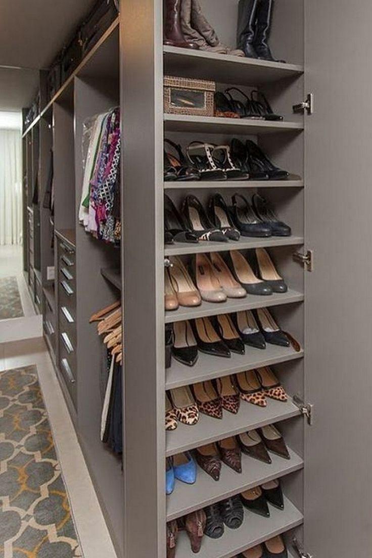 Home Closet Wardrobe Clothing Walk In Closet Bedroom Shelf Footwear Shoe S Bedroom C In 2020 Bedroom Closet Storage Bedroom Closet Design Shelf Decor Bedroom