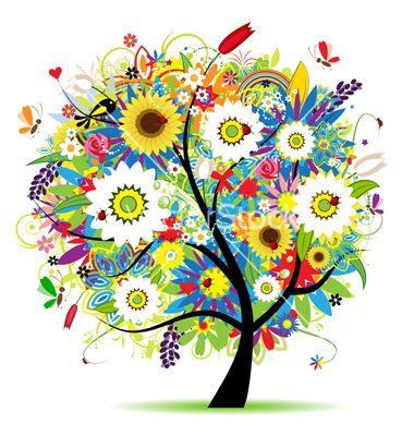Floral tree vector 276350 - by Kudryashka on VectorStock�