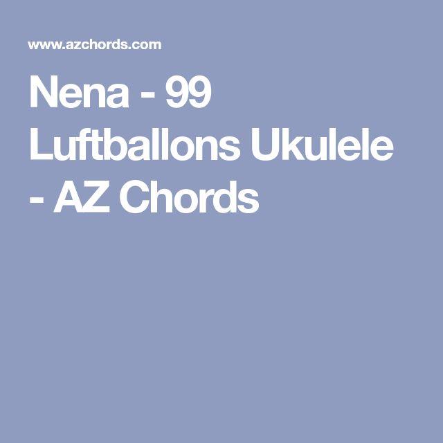 Nena - 99 Luftballons Ukulele - AZ Chords