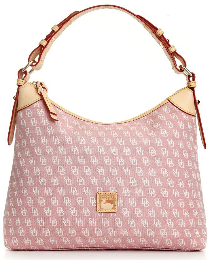 Dooney & Bourke Handbag, Signature Hobo - Dooney & Bourke - Macy's