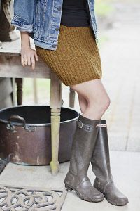 Knitting Patterns for Skirts