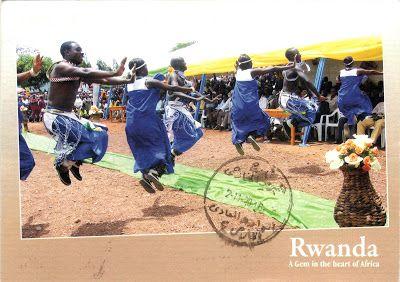 RWANDA - The intore, or dance of heroes