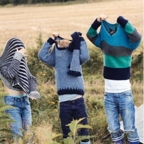 Kinder-Pullover stricken: Anleitung für drei Pullis   BRIGITTE.de
