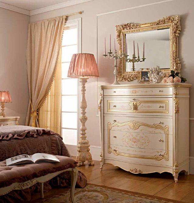 * Классический комод с зеркалом Versailles от итальянской фабрики Alberto&Mario Ghezzani * Classic chest of drawers Versailles with mirror from Italian factory Alberto&Mario Ghezzani
