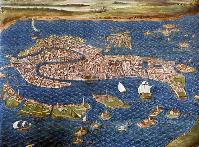 Map of Venice, The Vatican Museum's Maps Room