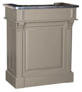 Petit meuble de bar en pin massif et zinc de 90cm de large. Finitions réalisées en France et livraison offerte !